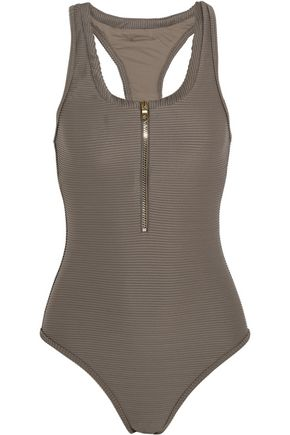 HEIDI KLEIN Huntington Beach ribbed swimsuit
