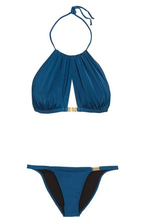 L'AGENT by AGENT PROVOCATEUR Tania embellished bikini