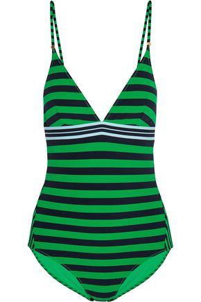 STELLA McCARTNEY Striped swimsuit