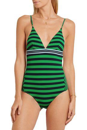 STELLA McCARTNEY Striped swimsuit