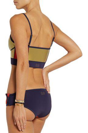 DUSKII Zip Me Up neoprene bikini briefs
