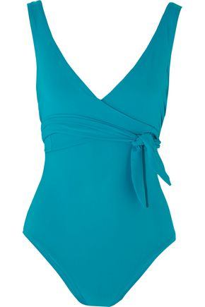 KARLA COLLETTO Prima wrap-effect swimsuit