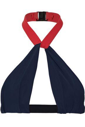 FELLA Oscar color-block halterneck bikini top