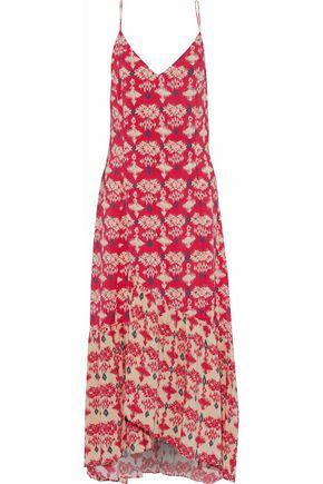 VIX PAULAHERMANNY Printed poplin maxi dress