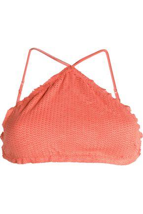 VIX PAULA HERMANNY Sarah laser-cut bikini top