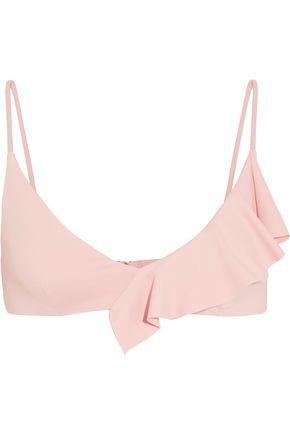 MARYSIA Newport ruffled bikini top