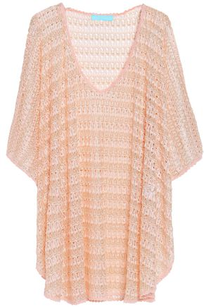 MELISSA ODABASH Madison crochet-knit coverup