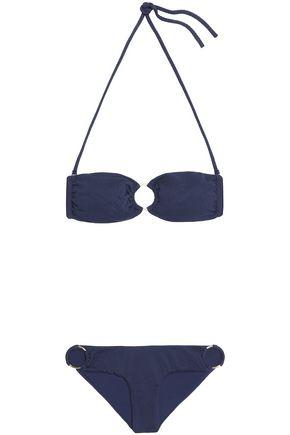 MELISSA ODABASH Embellished bandeau bikini