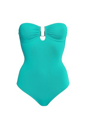 MELISSA ODABASH Argentina printed swimsuit
