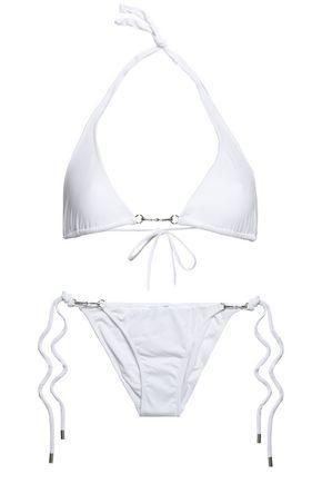MELISSA ODABASH Bahamas embellished triangle bikini