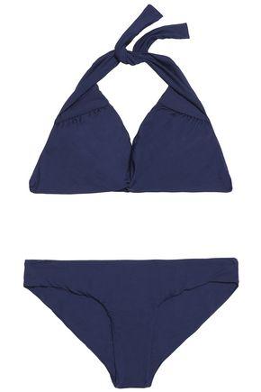 MELISSA ODABASH Africa twist-front halterneck bikini