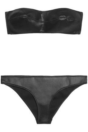 MELISSA ODABASH Neoprene bandeau bikini