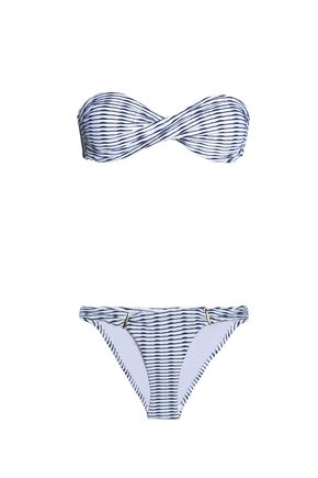 MELISSA ODABASH Martinique twist-front bandeau bikini