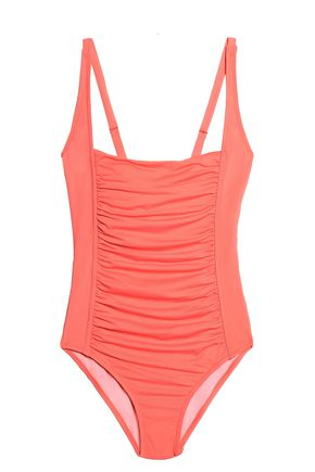MELISSA ODABASH Ruched swimsuit