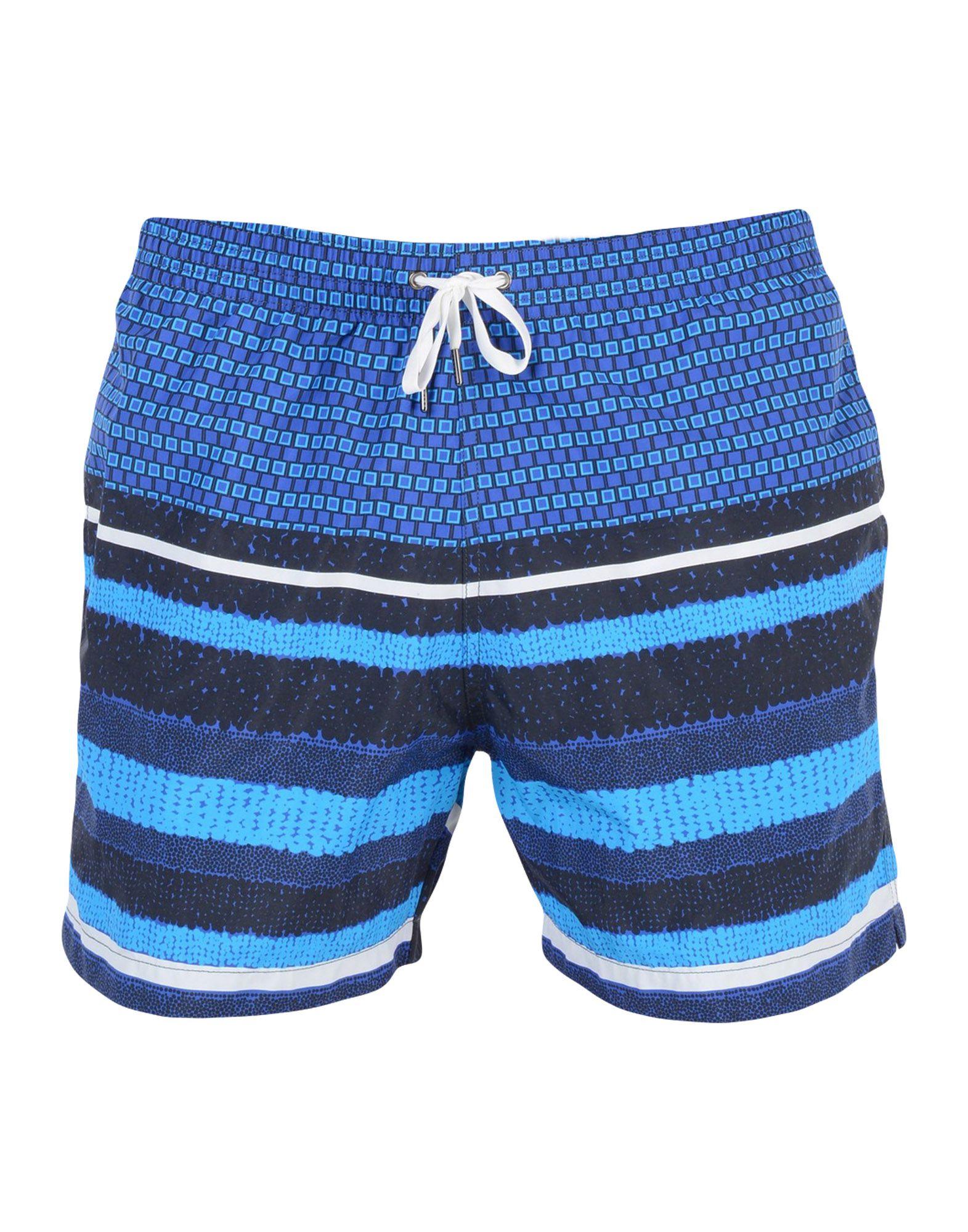 DAN WARD Swim Trunks in Blue