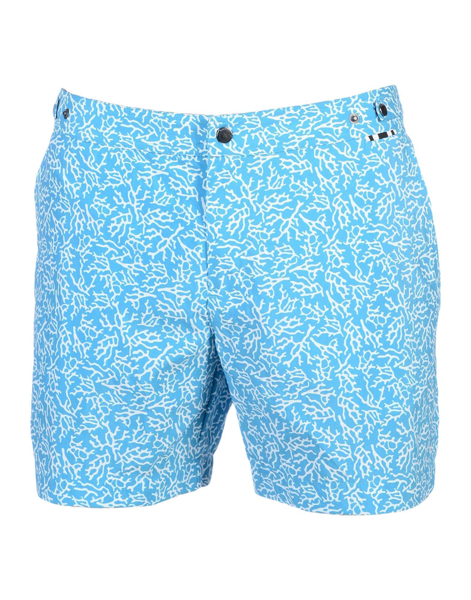 DAN WARD Swim Trunks in Turquoise
