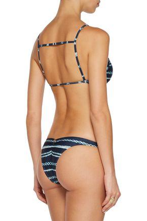 VIX Istanbul printed bikini briefs