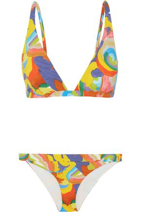 MISSONI Mare printed triangle bikini