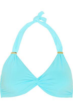 MELISSA ODABASH Africa twist-front bikini top