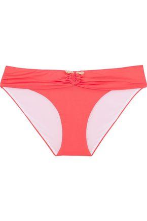 ROBERTO CAVALLI Low-rise embellished bikini briefs