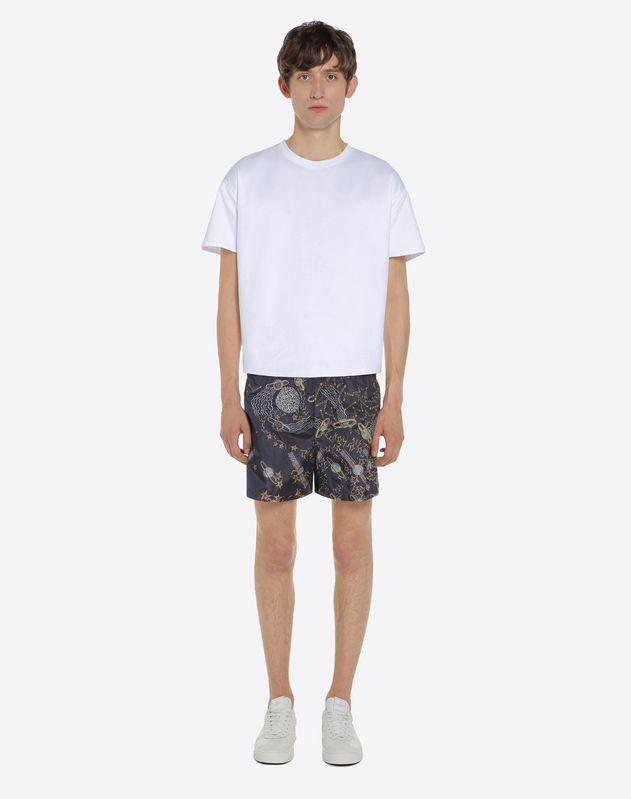 Lunar Punk print swimwear