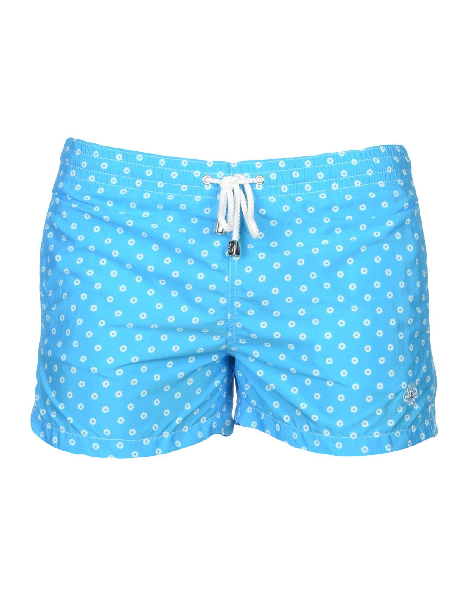 LUIGI BORRELLI NAPOLI Пляжные брюки и шорты шорты пляжные