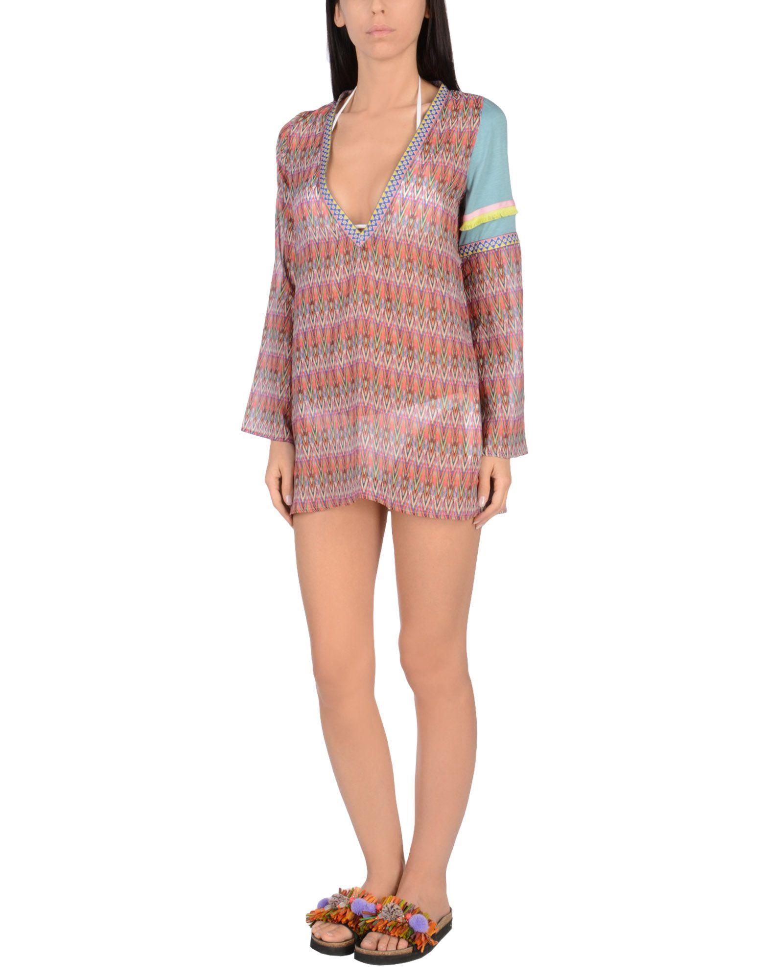 AMORISSIMO Пляжное платье платье пляжное charmante платья и сарафаны приталенные