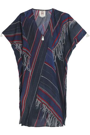 FIGUE Printed cotton-blend kaftan