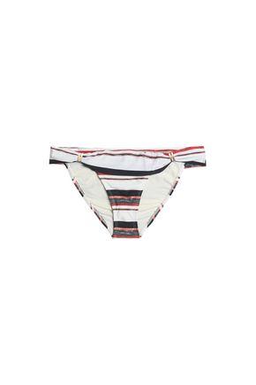 VIX PAULA HERMANNY Bia striped low-rise bikini briefs