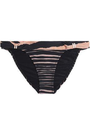 VIX PAULA HERMANNY Lanai printed mid-rise bikini briefs