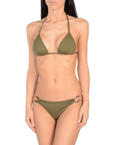 NADIA GUIDI Damen Bikini Militärgrün Größe S 86% Polyamid 14% Elastan