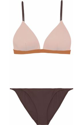 ZIMMERMANN Color-block triangle bikini