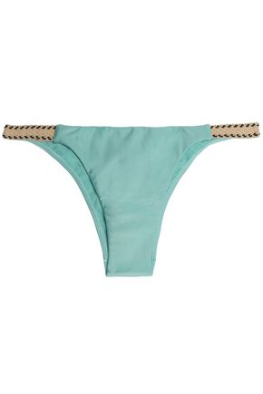 VIX PAULAHERMANNY Ibiza Jute low-rise bikini briefs