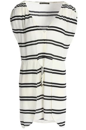 JETS AUSTRALIA by JESSIKA ALLEN Striped poplin cover-up