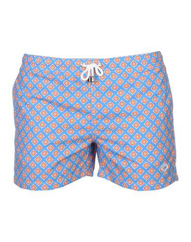 Фото - Шорты для плавания от LUIGI BORRELLI NAPOLI лазурного цвета
