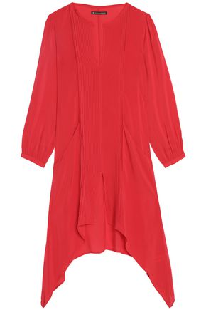 VIX PAULAHERMANNY Flora pintucked voile coverup