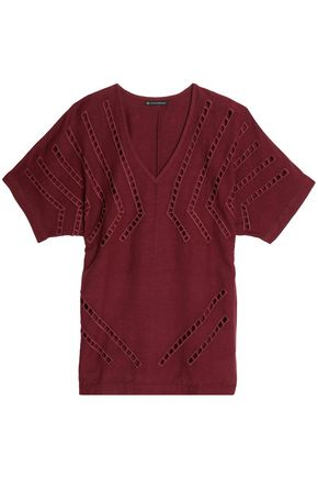 VIX PAULAHERMANNY Lattice-trimmed jersery coverup