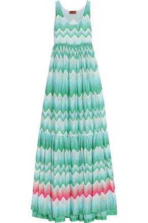 MISSONI MARE Crochet-knit maxi dress