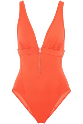 ADIDAS by STELLA McCARTNEY Zip-detailed swimsuit