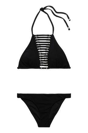 ZIMMERMANN Embellished cutout bikini