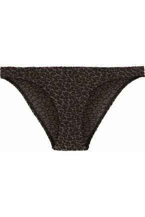 ZIMMERMANN Printed bandeau bikini top
