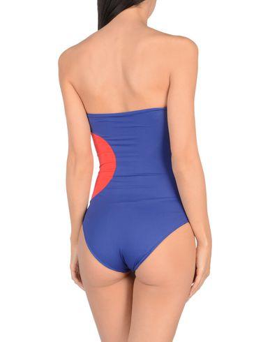 Фото 2 - Слитный купальник от S AND S синего цвета