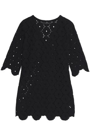 VIX PAULAHERMANNY Broderie anglaise cotton coverup