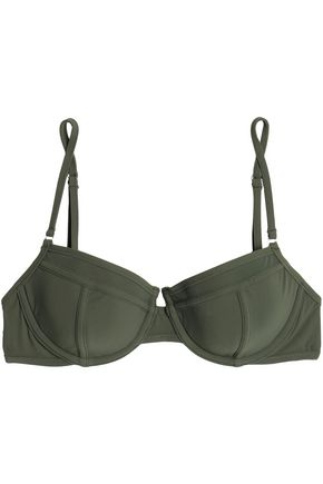 ZIMMERMANN Floral-print underwire bikini top