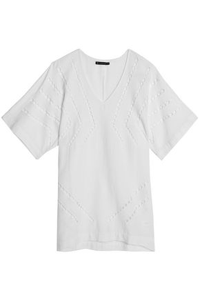 VIX PAULA HERMANNY Luma lattice-trimmed gauze coverup