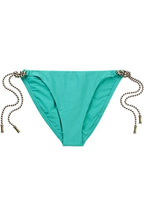 VIX PAULAHERMANNY Solid Thai low-rise bikini briefs