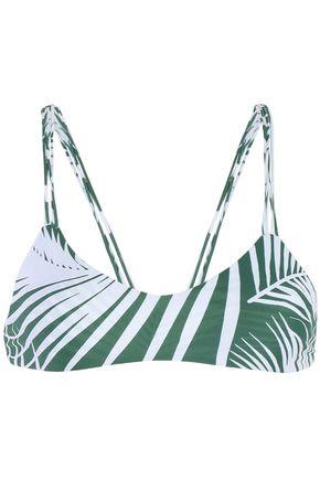 MIKOH Banyans printed bikini top