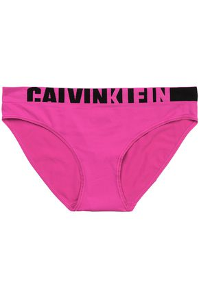 CALVIN KLEIN Printed jersey low-rise briefs