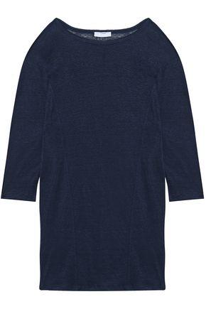 MIKOH Slub linen-jersey coverup