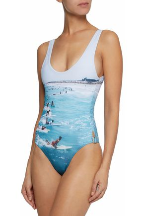 ORLEBAR BROWN Open-back printed swimsuit